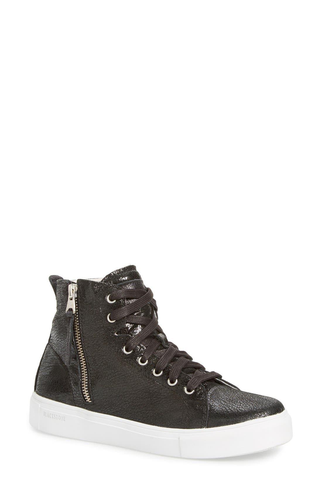 Fast Shipping LL64' Sneaker Women Womens Black Leather Blackstone Womens Comfort