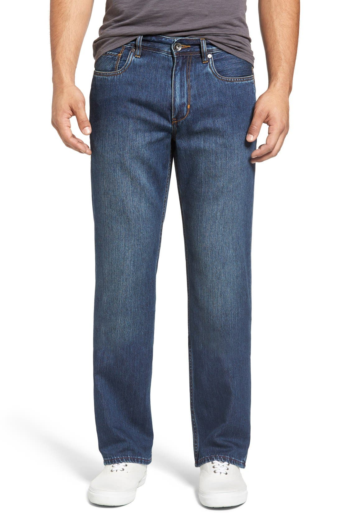 Main Image - Tommy Bahama 'Caymen' Relaxed Fit Straight Leg Jeans