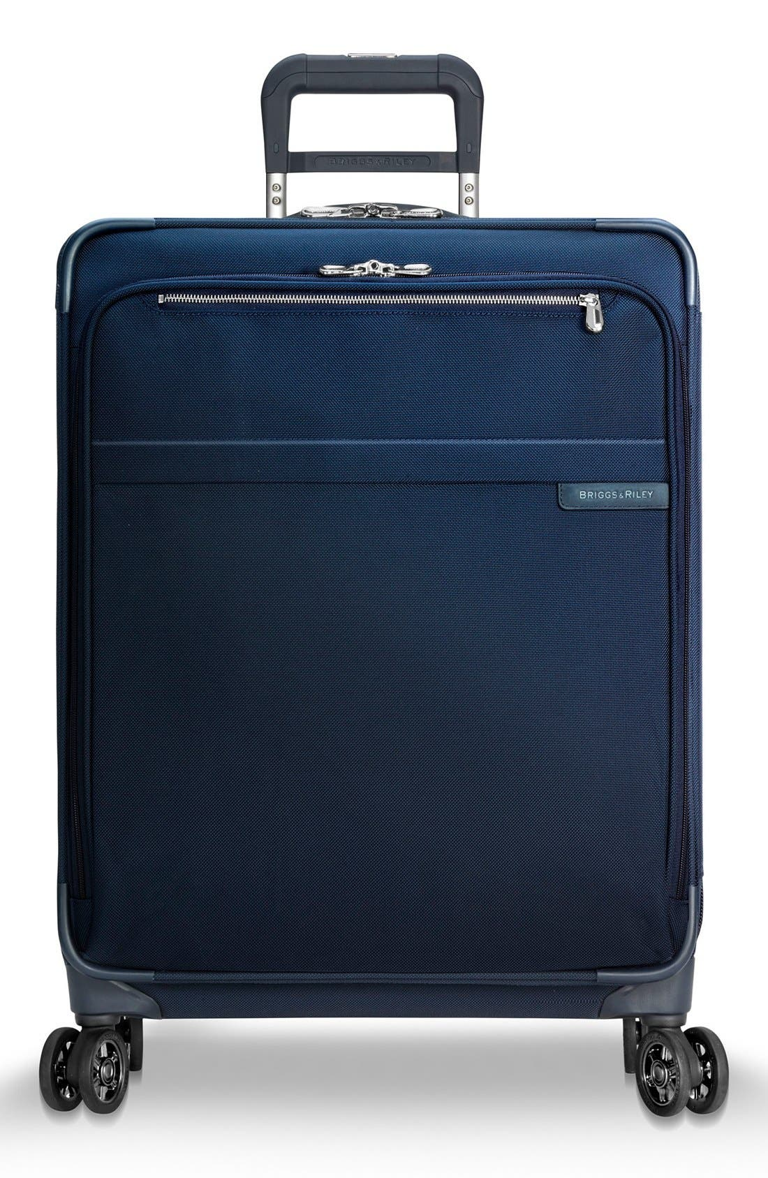 Main Image - Briggs & Riley Baseline 25 Inch Expandable Rolling Suitcase