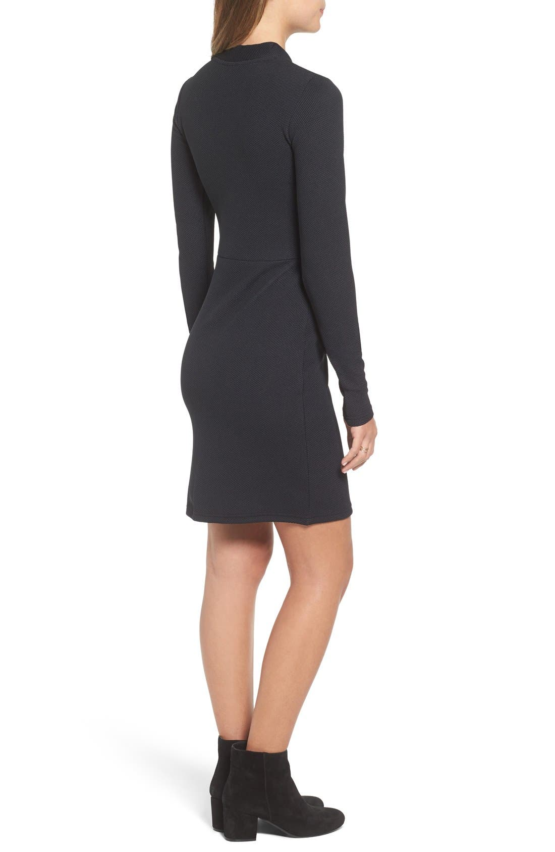 Alternate Image 2  - Cheap Monday 'Shoot' Zip Detail Body-Con Dress