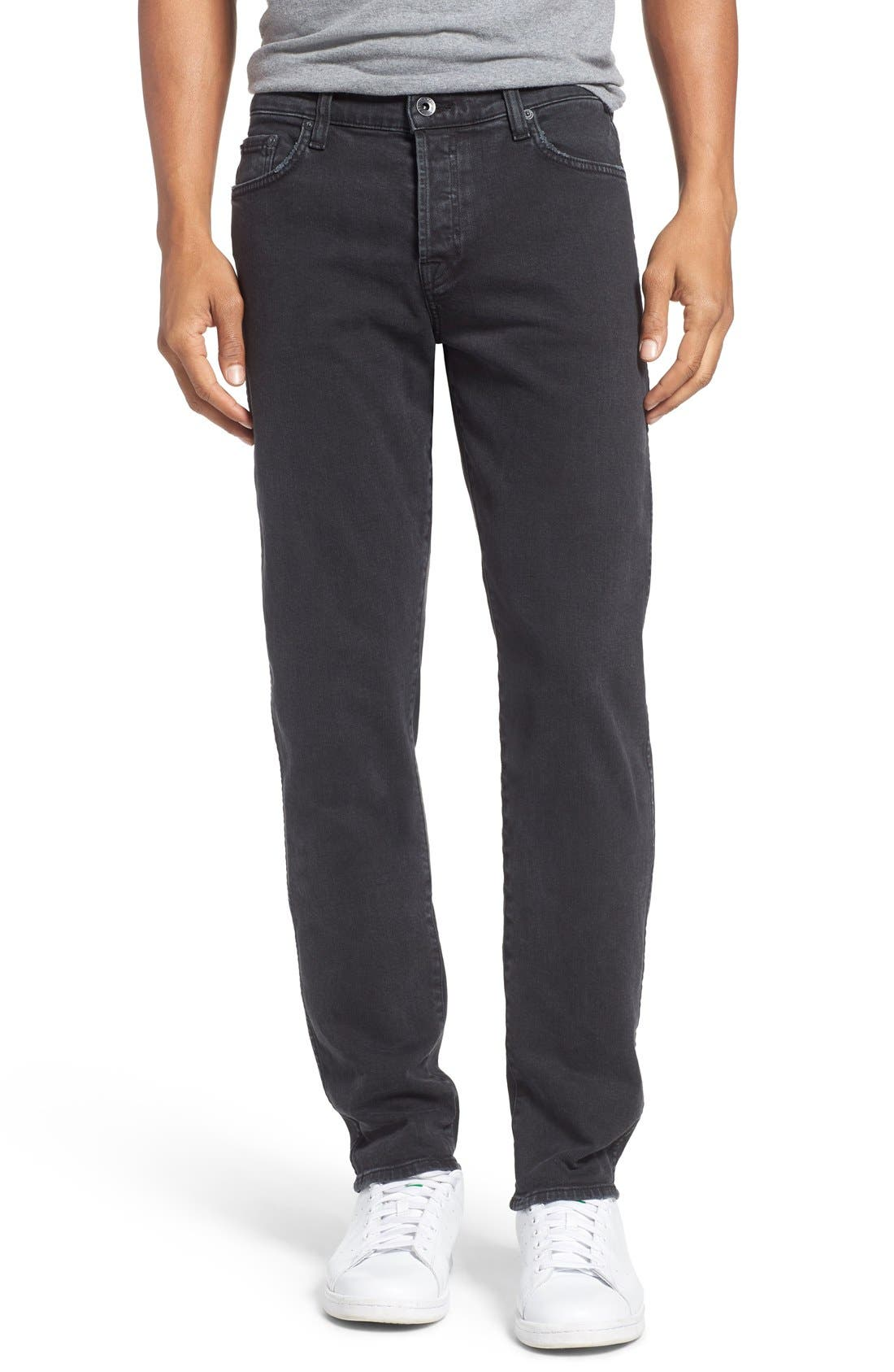 Main Image - Baldwin 'Henley' Slim Fit Jeans (Smoke)