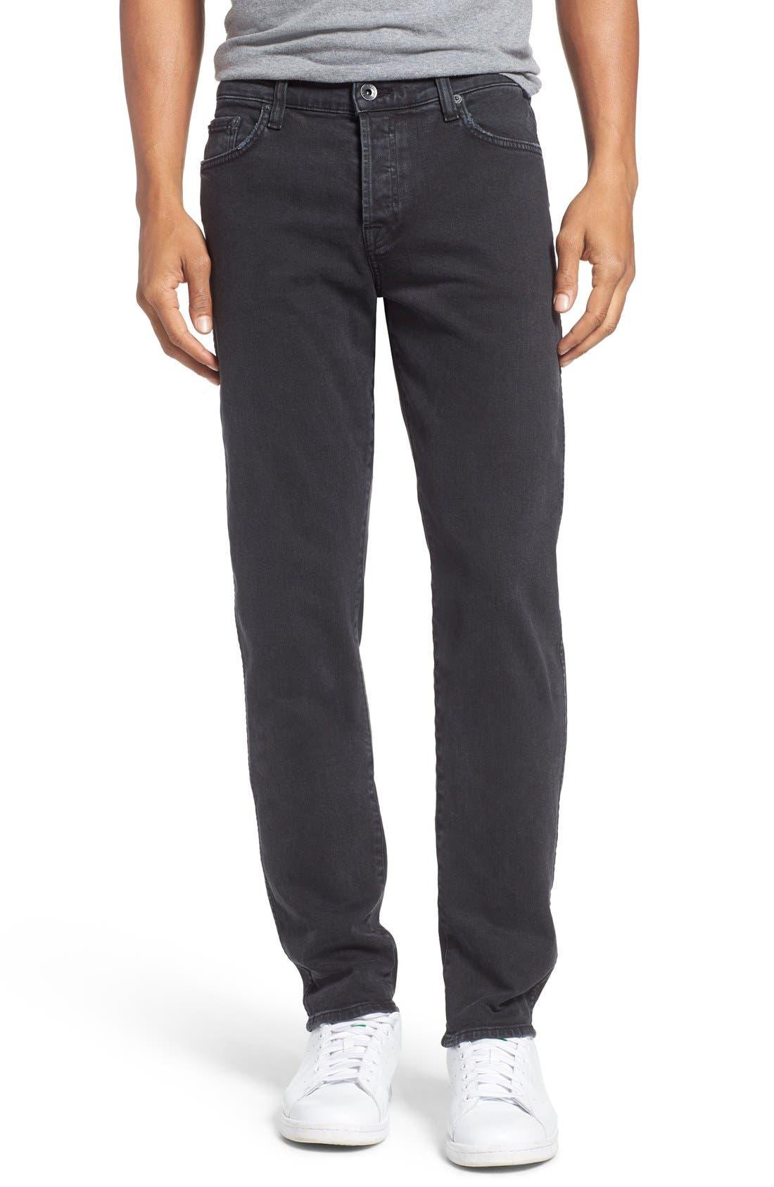 Baldwin 'Henley' Slim Fit Jeans (Smoke)