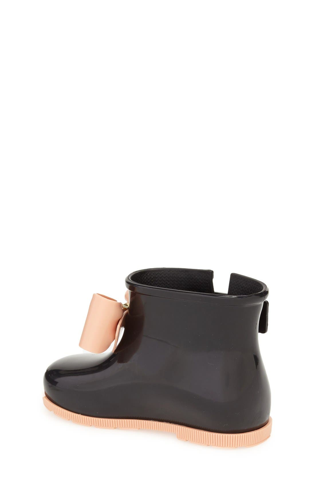 Alternate Image 2  - Mini Melissa 'Mini Sugar' Rain Boot (Walker & Toddler)
