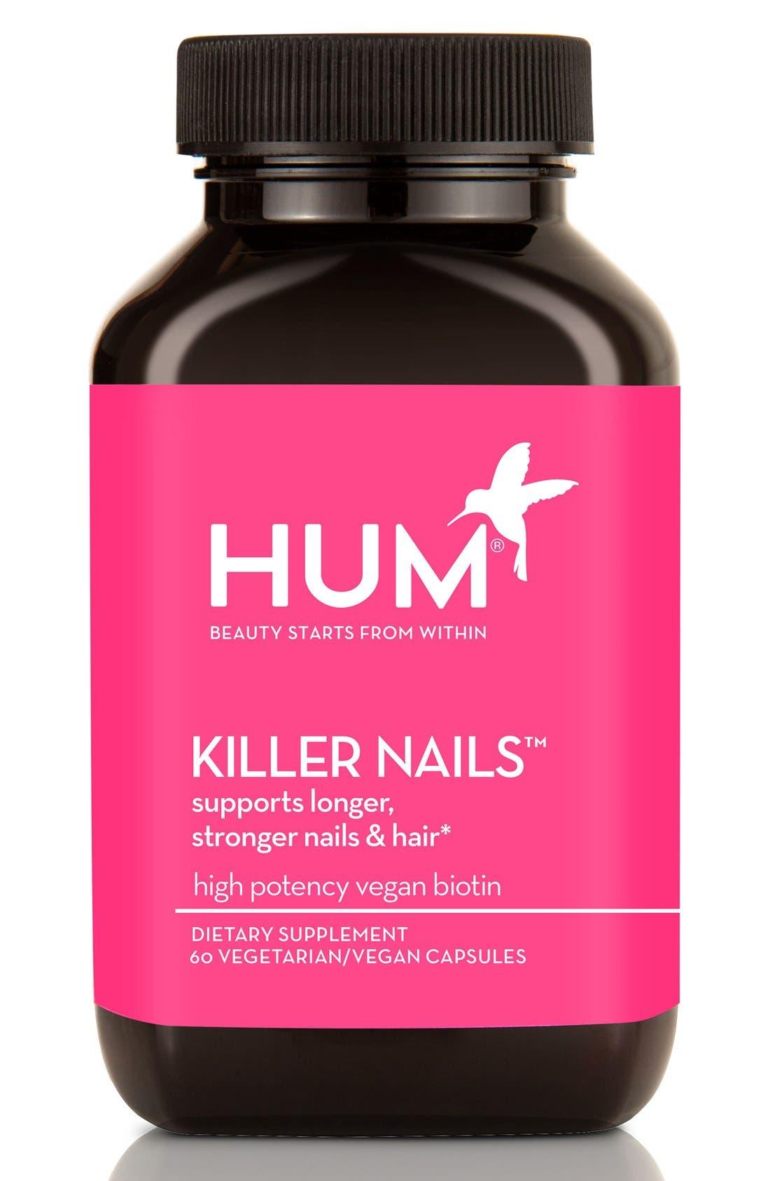 Alternate Image 1 Selected - Hum Nutrition Killer Nails Capsules