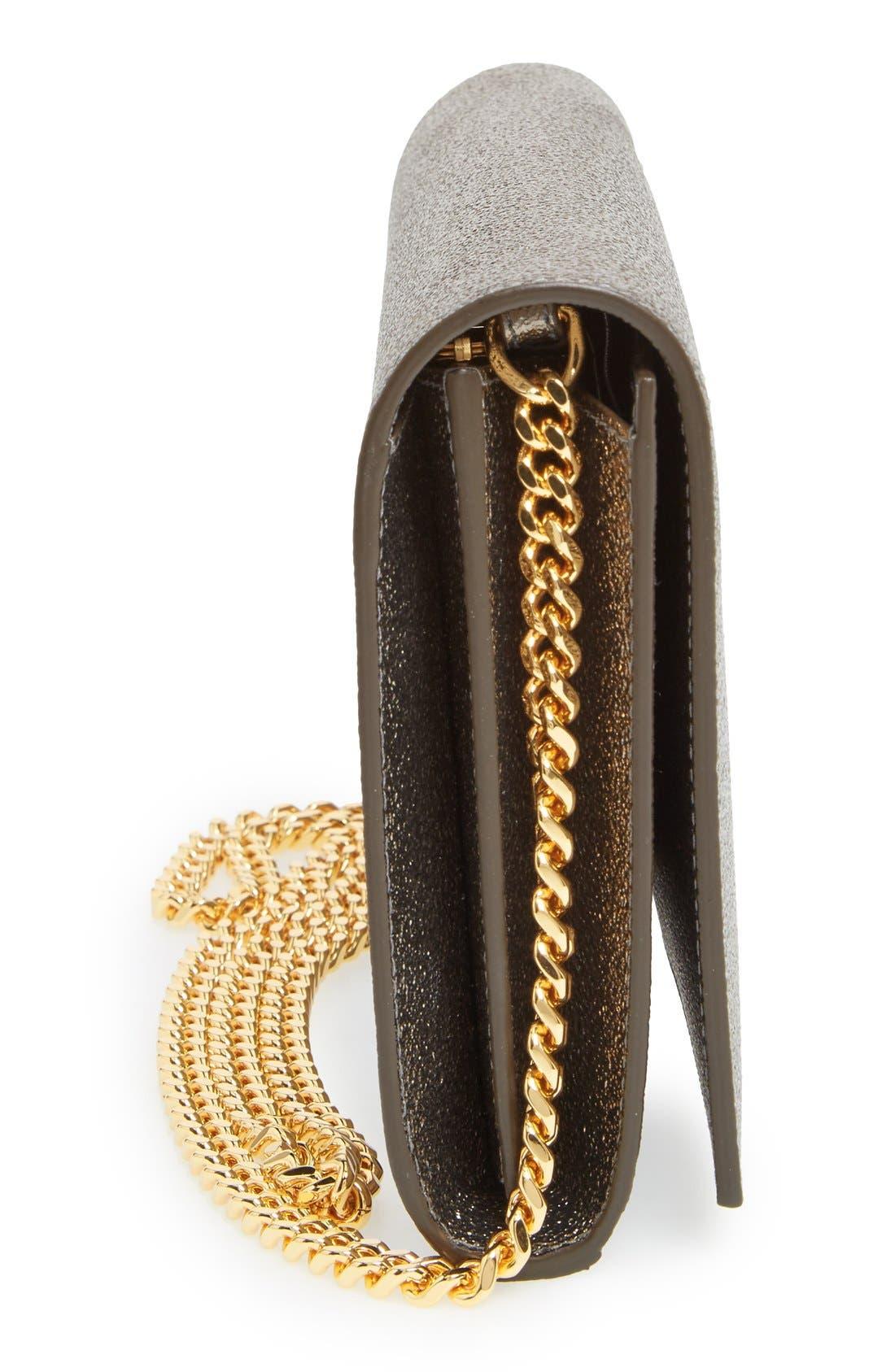 Alternate Image 5  - Saint Laurent Leather Wallet on a Chain