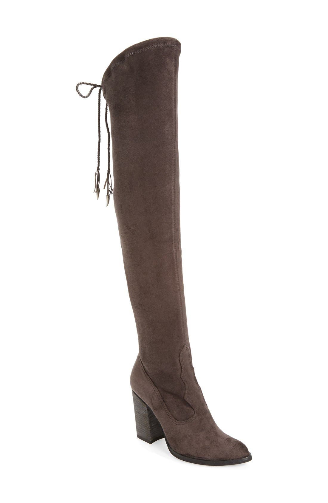 Main Image - Dolce Vita 'Chance' Over the Knee Stretch Boot (Women) (Narrow Calf)