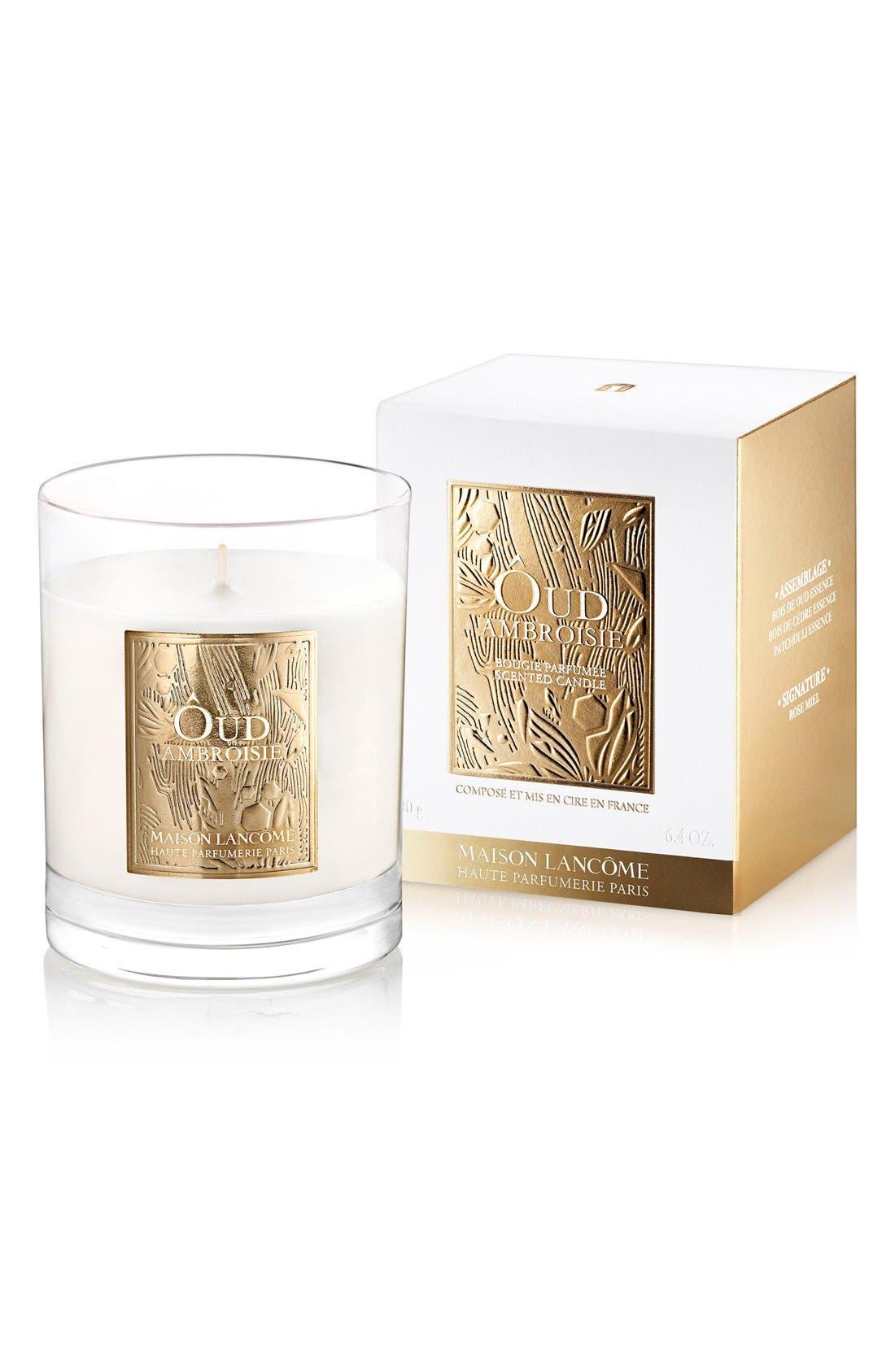 Alternate Image 1 Selected - Lancôme Maison Lancôme - Ôud Ambroisie Candle