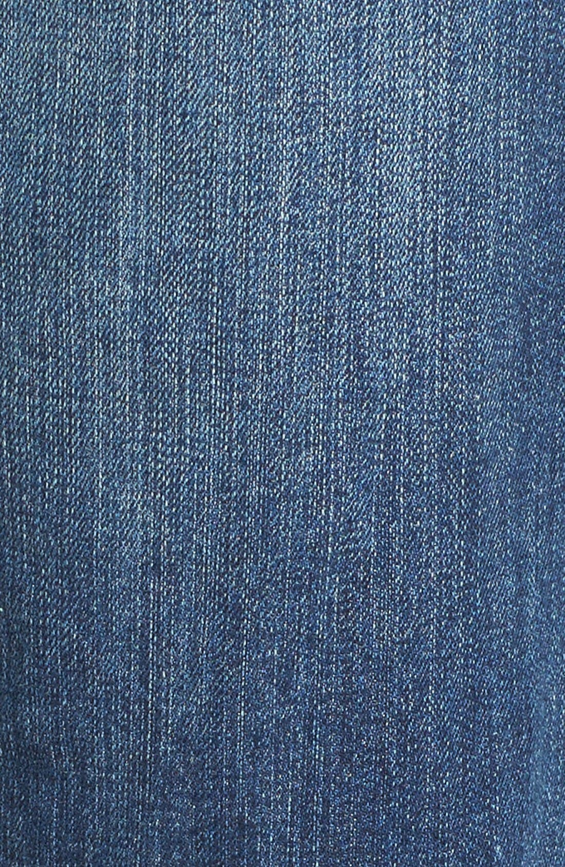 Alternate Image 6  - Caslon® Distressed Boyfriend Jeans (Indigo Tide)