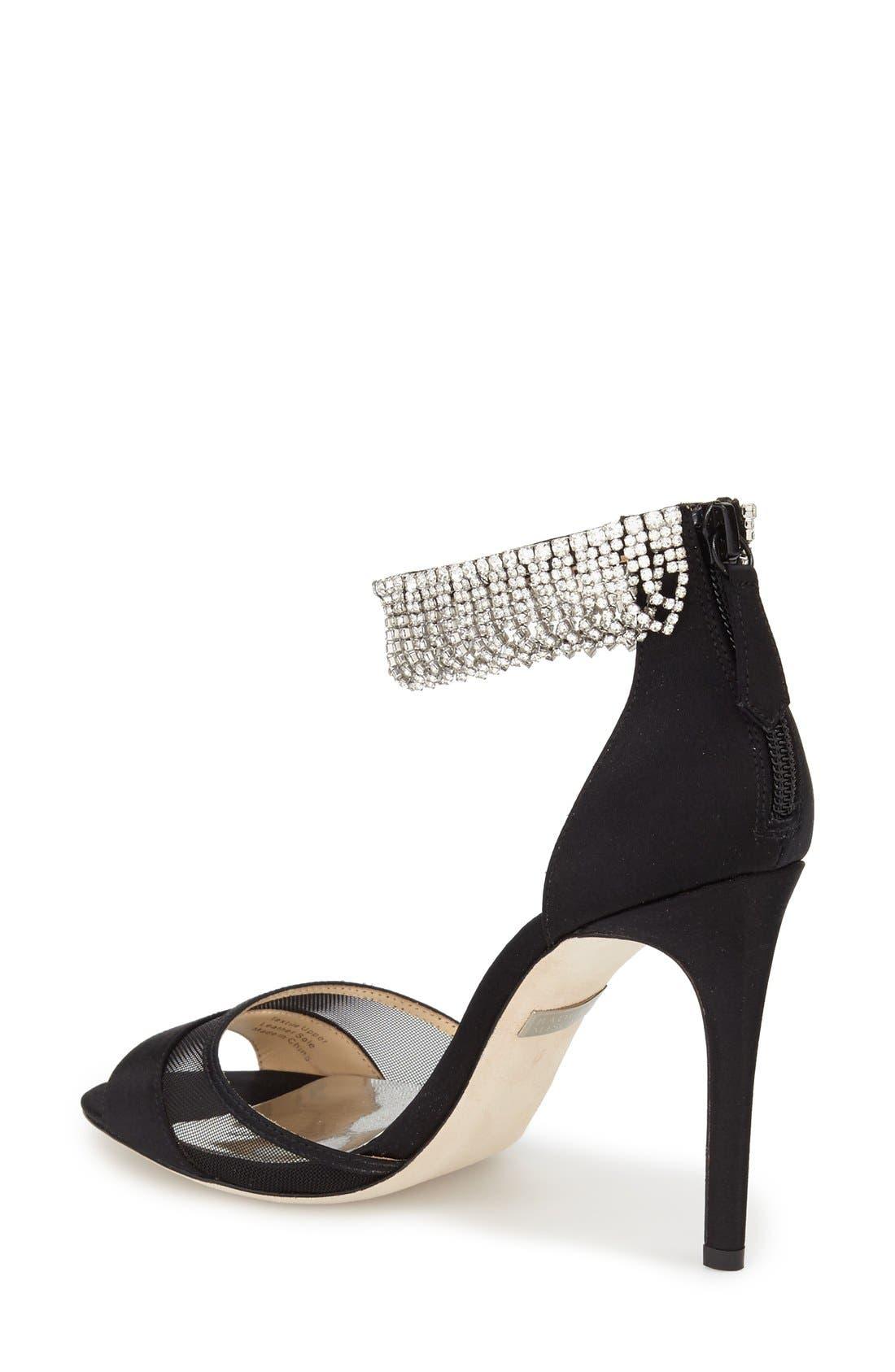 Alternate Image 2  - Badgley Mischka 'Gazelle' Ankle Strap Sandal (Women)