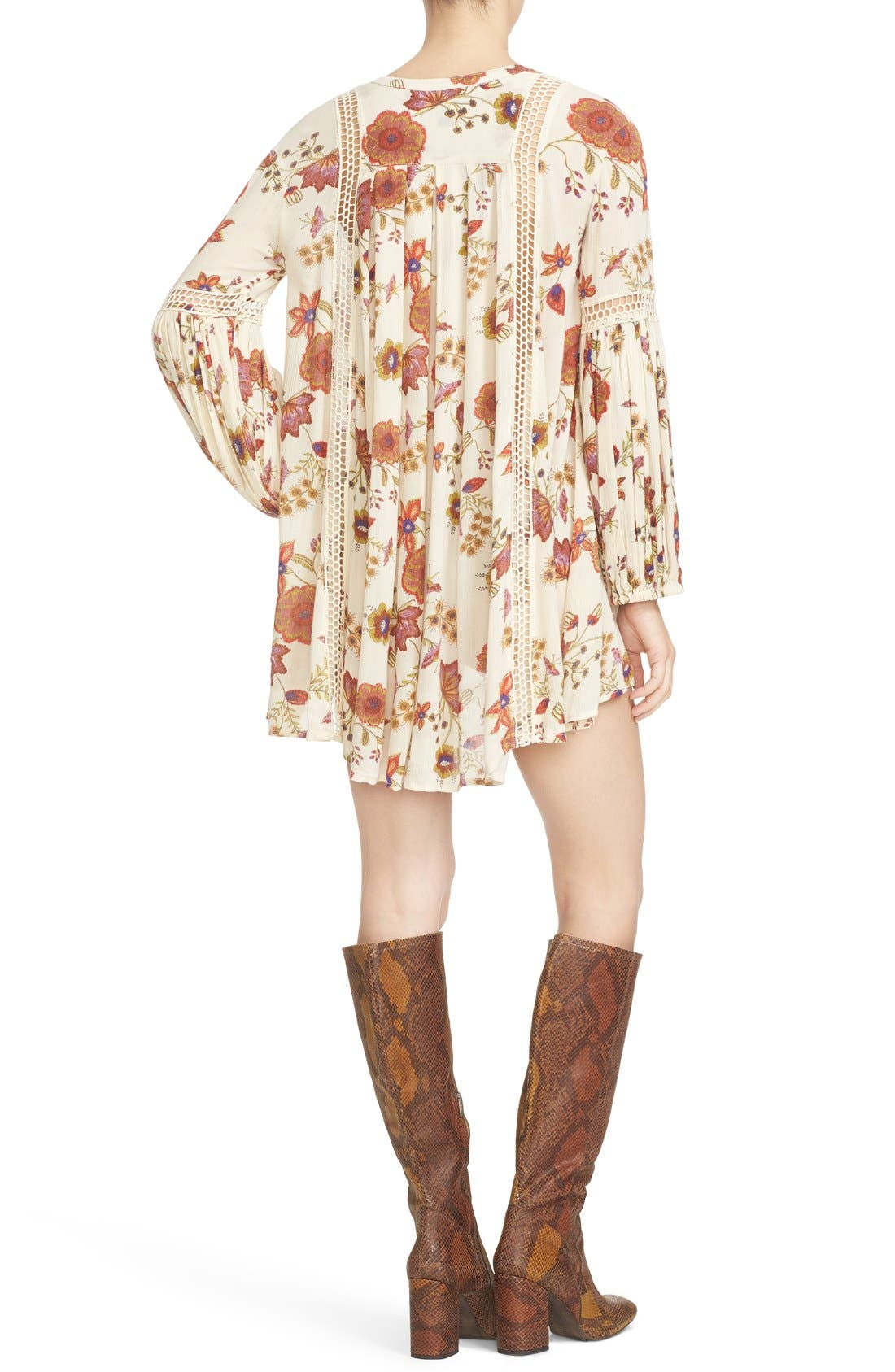 Alternate Image 2  - Free People Just the Two of Us Floral Tunic