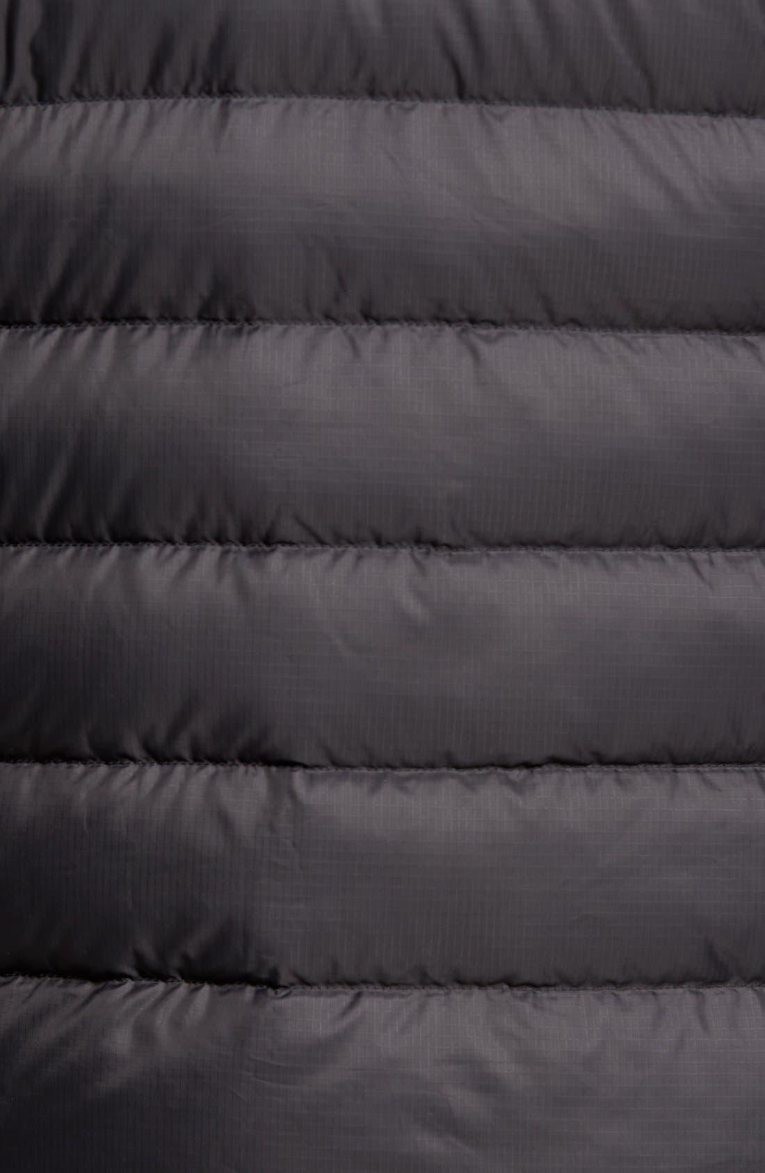 'Aconcagua' Goose Down Jacket,                             Alternate thumbnail 5, color,                             Black