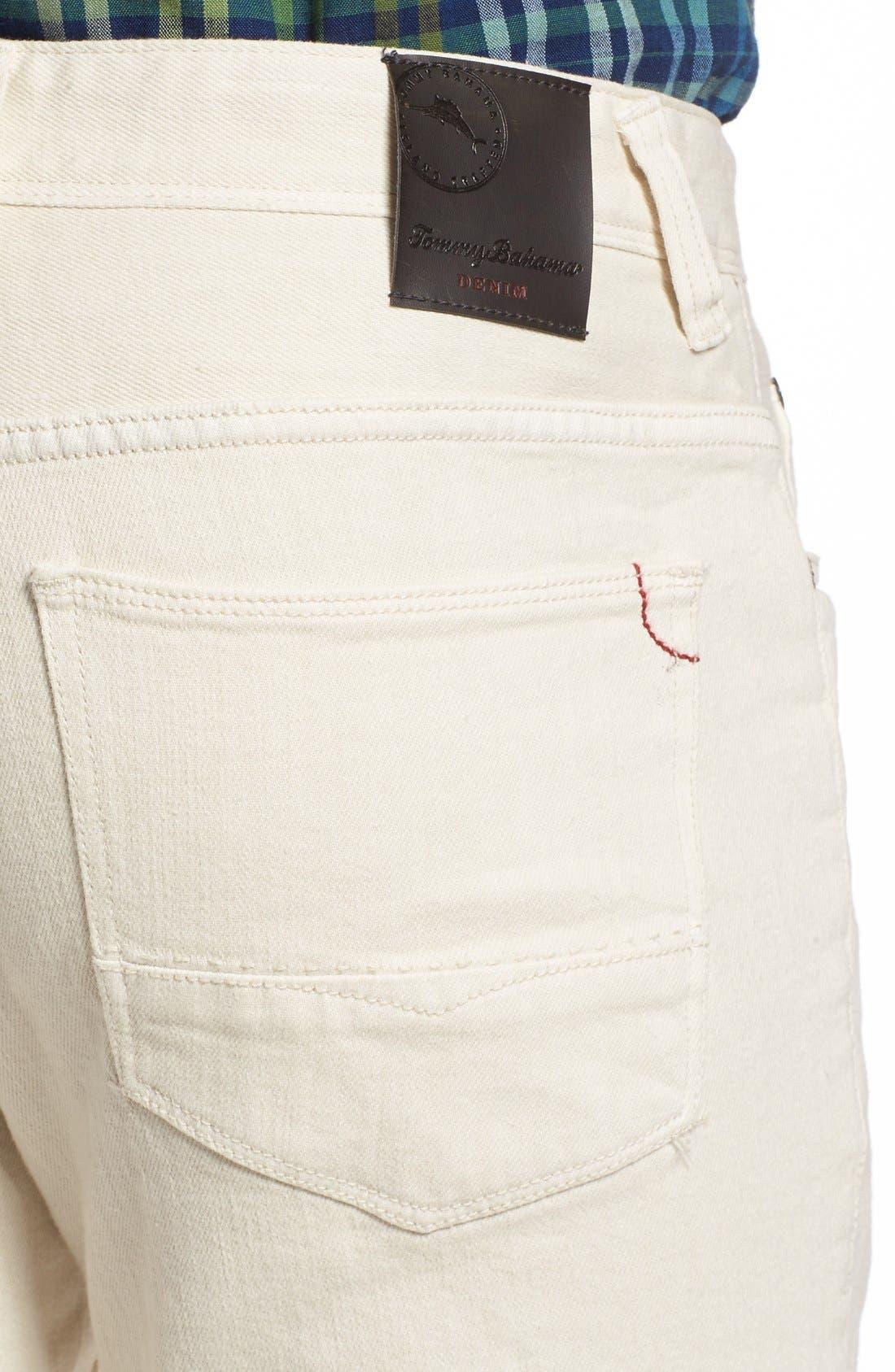 Weft Side Keys Pants,                             Alternate thumbnail 4, color,                             Bleached Sand