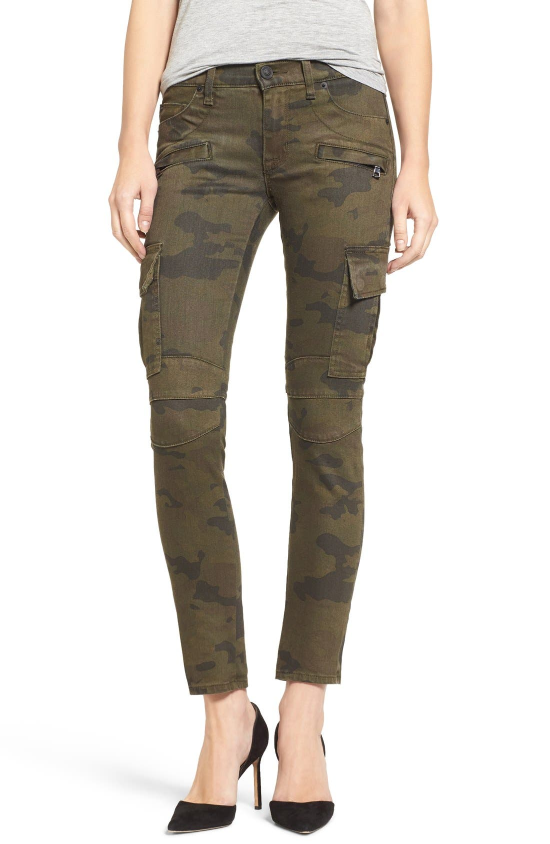 Alternate Image 1 Selected - Hudson Jeans 'Colby' Ankle Skinny Cargo Pants
