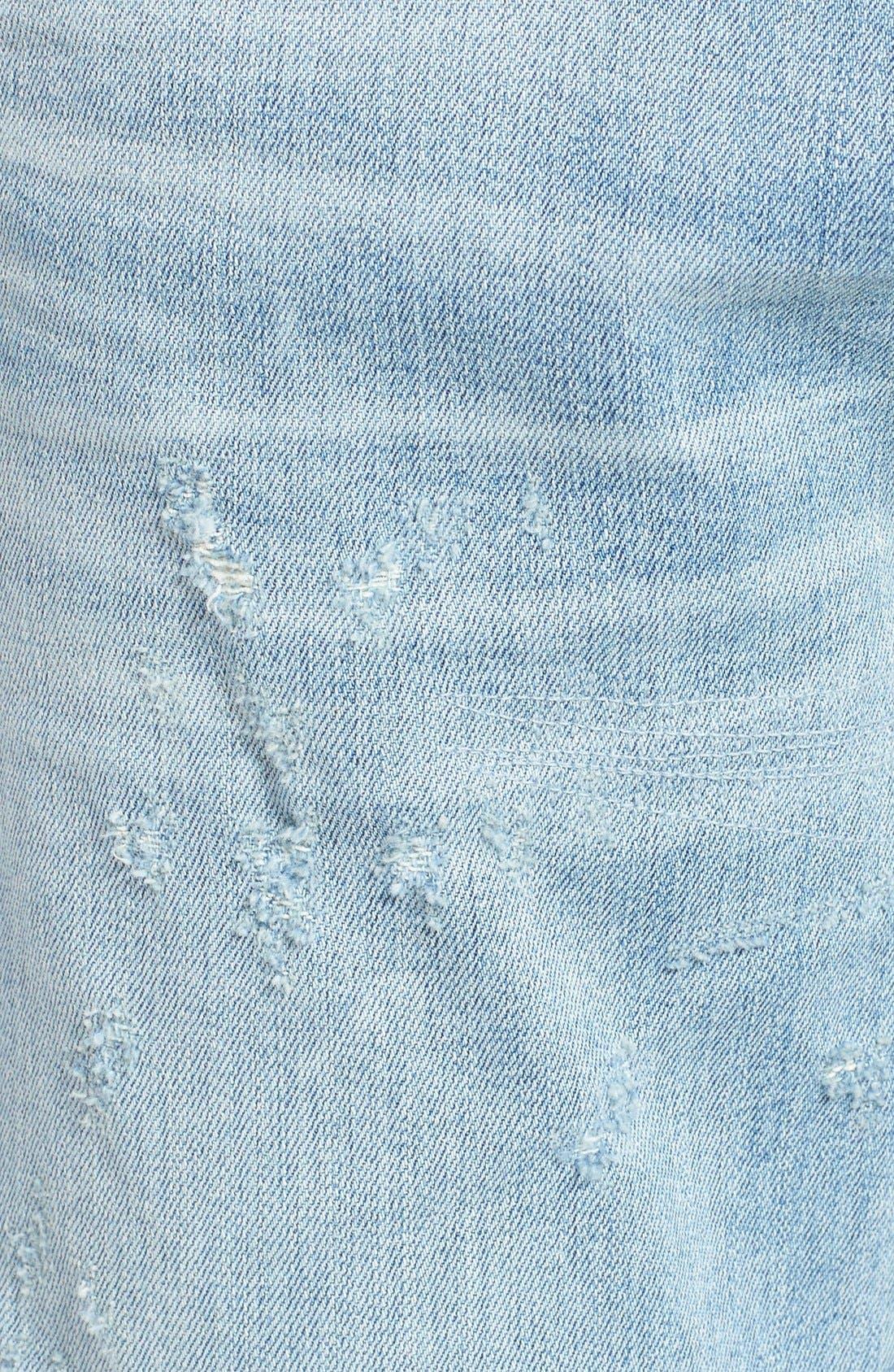 Alternate Image 6  - AGOLDE Skinny Fit Distressed Jeans (Pixx) (Men)