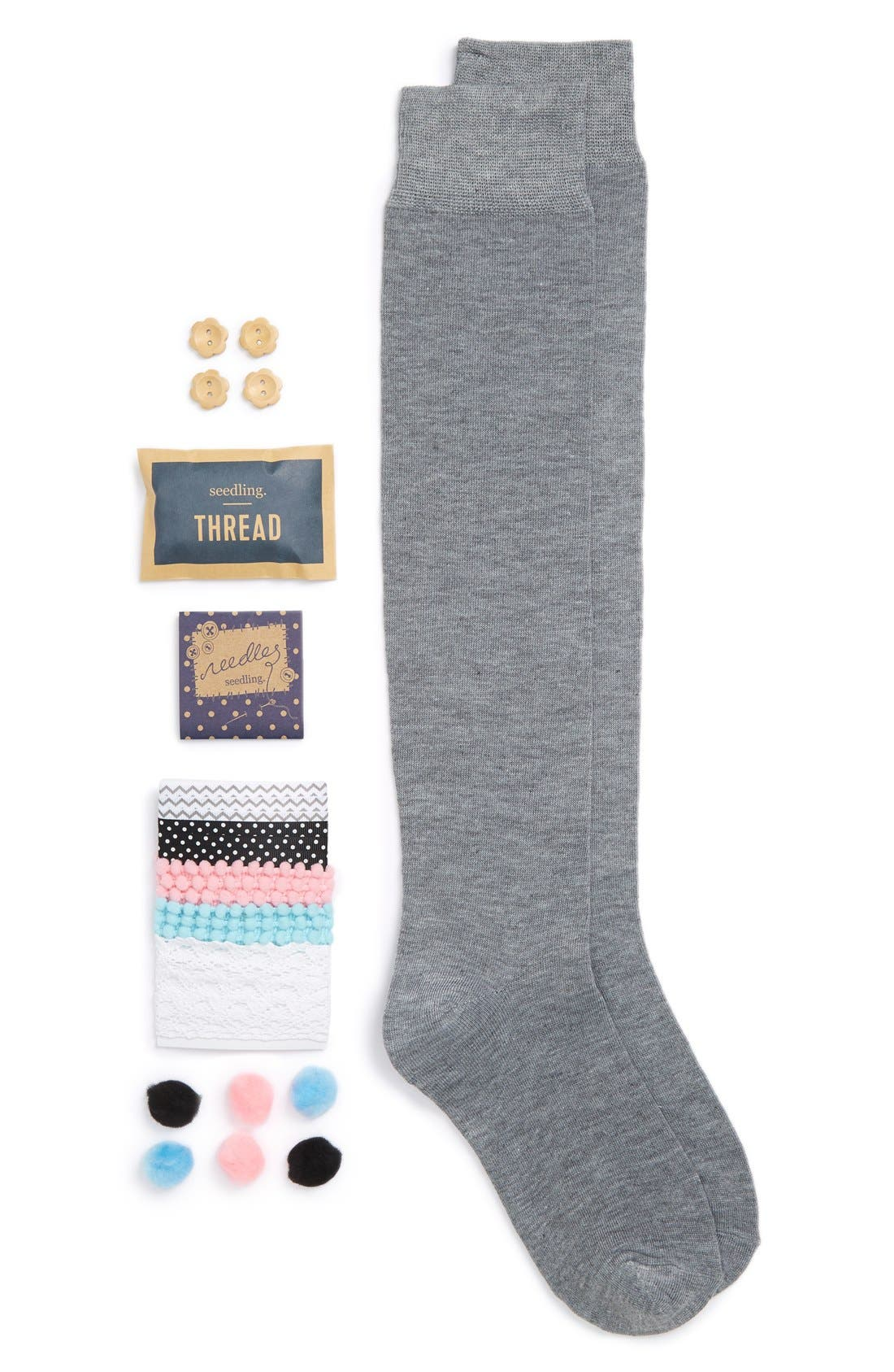 seedling 'Design Your Own Fashionista Socks' Craft Kit