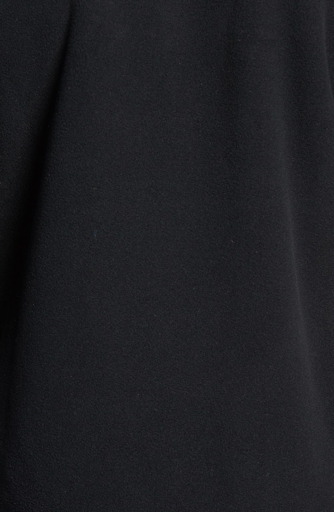 Denali 2 Fleece Hoodie,                             Alternate thumbnail 5, color,                             Recycled Tnf Black