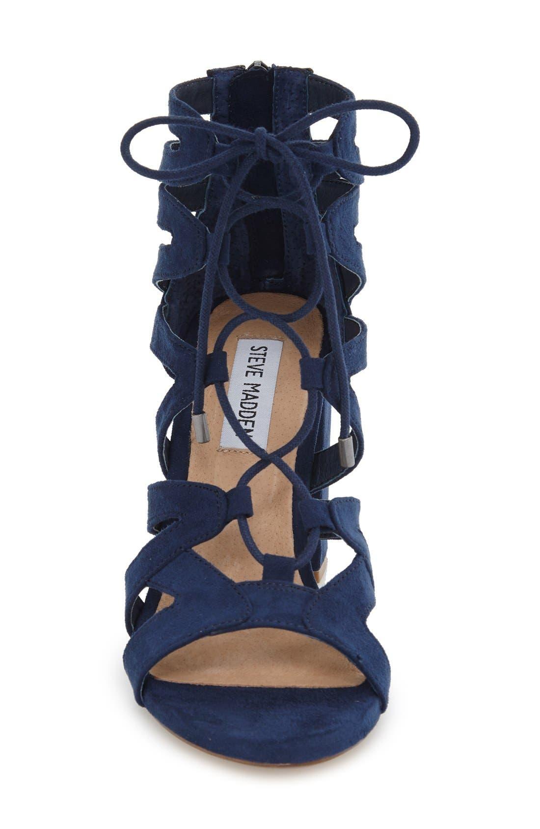 Alternate Image 3  - Steve Madden 'Gal' Strappy Lace-Up Sandal (Women)