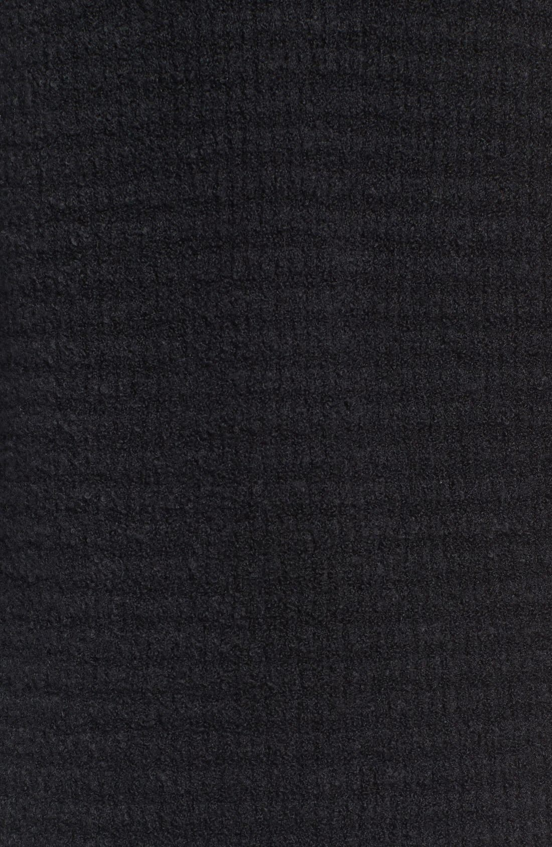 Alternate Image 5  - Hinge Lace Inset V-Neck Sweater