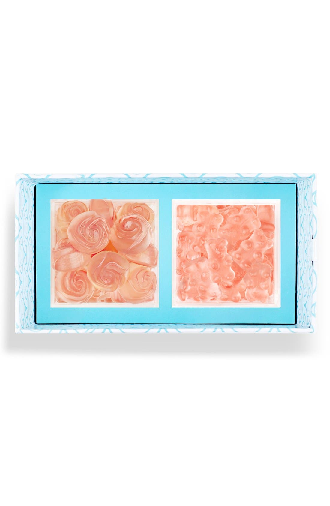 Rosé All Day Candy Bento Box,                             Main thumbnail 1, color,                             Rose