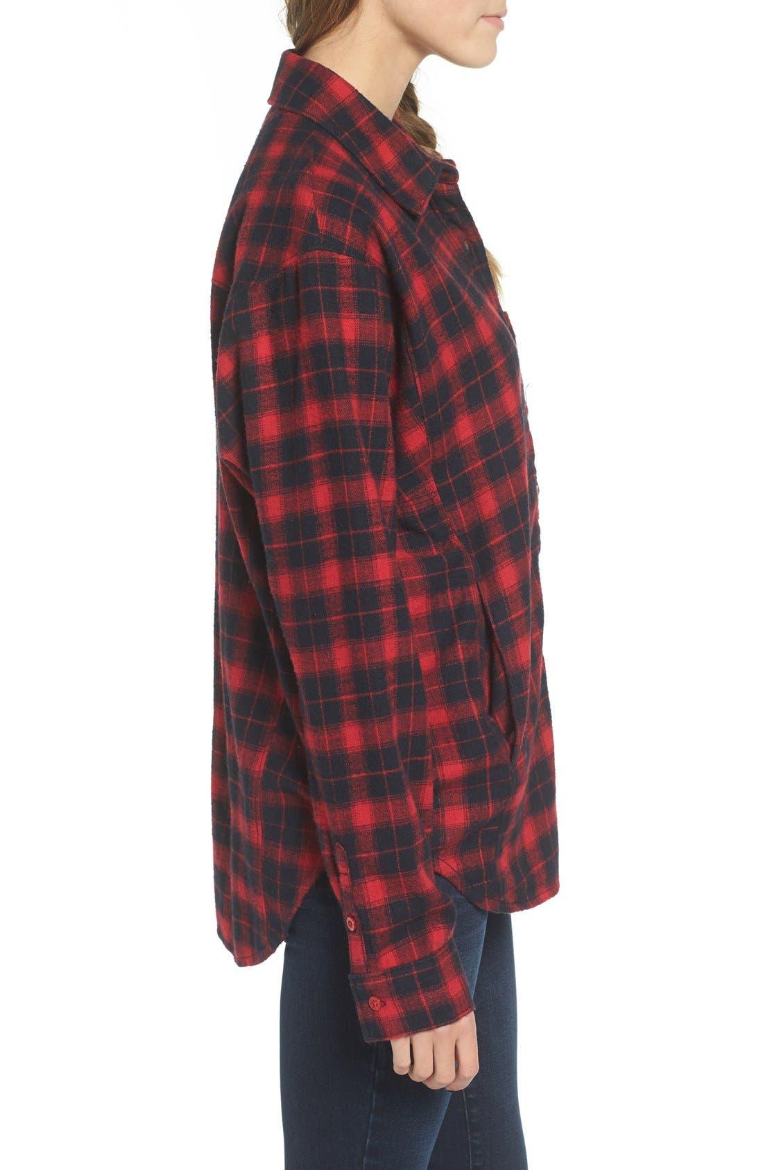 Alternate Image 3  - BP. Plaid Flannel Shirt