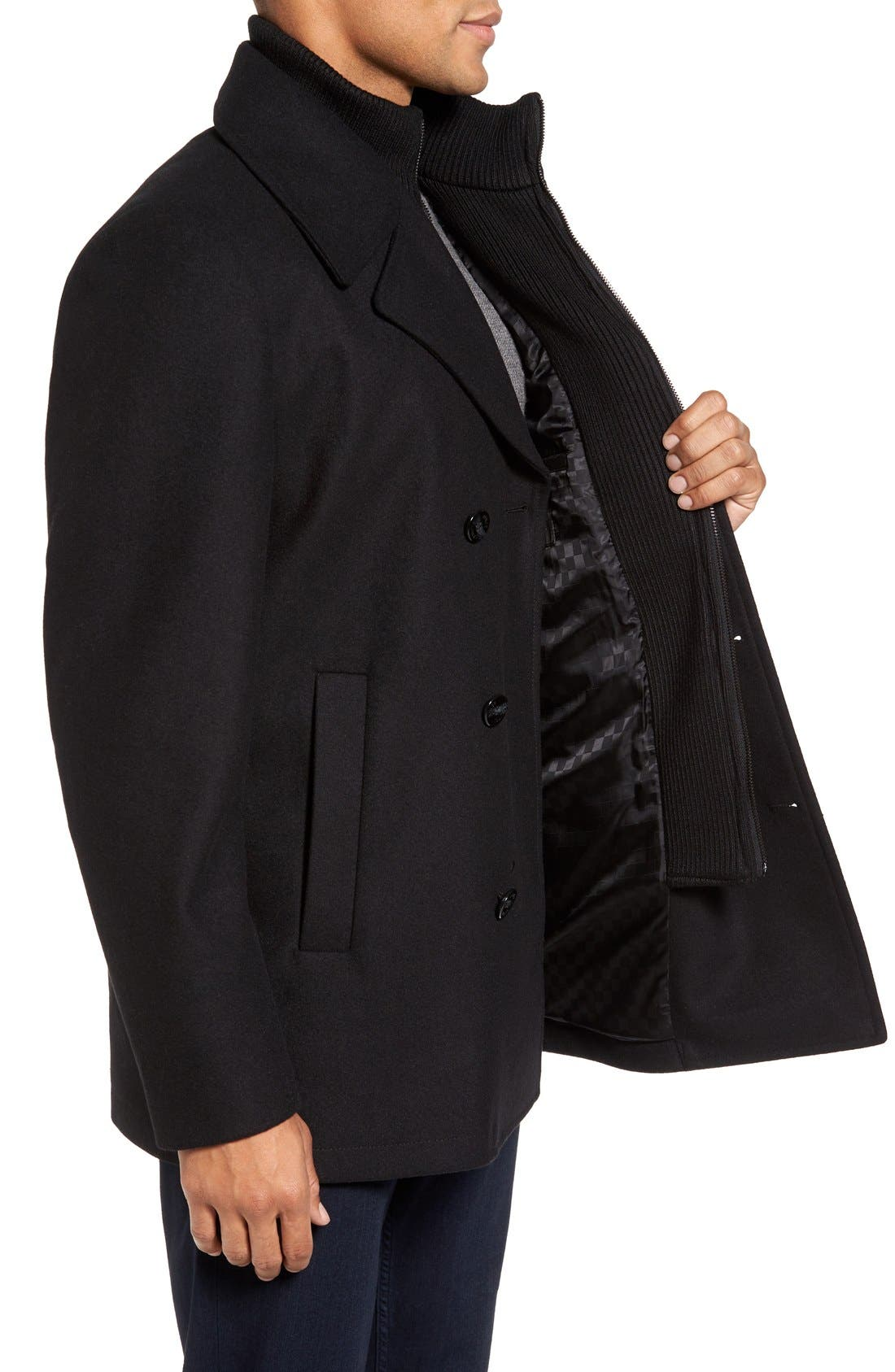 Alternate Image 3  - Vince Camuto Dock Peacoat