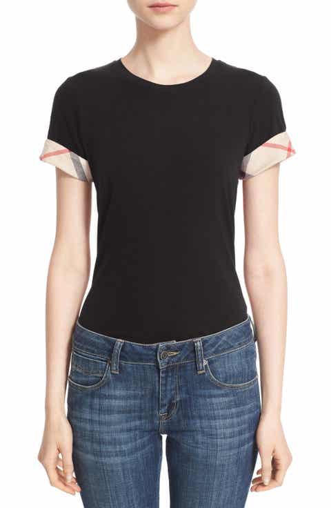 Black Designer T-Shirts for Women | Nordstrom