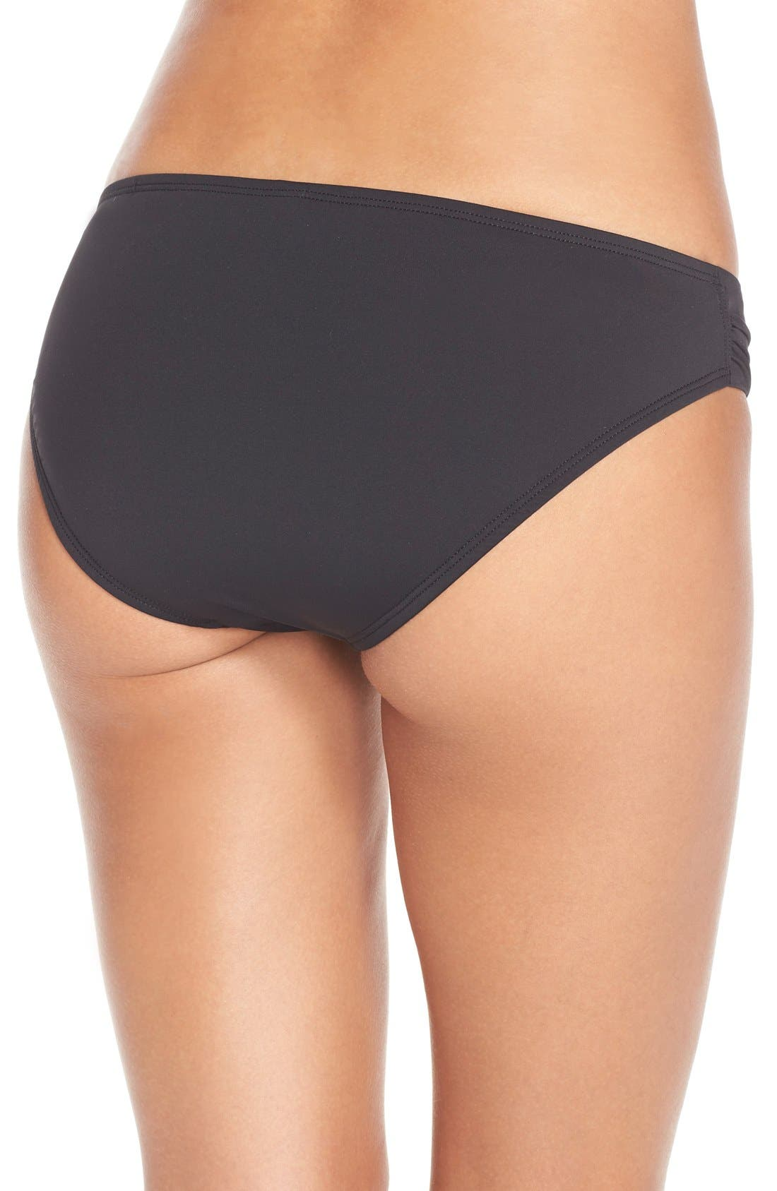 Alternate Image 2  - Tommy Bahama Side Shirred Hipster Bikini Bottoms