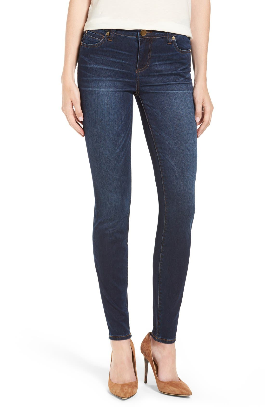 Alternate Image 1 Selected - Kut From the Kloth Mia Stretch Skinny Jeans (Awareness)