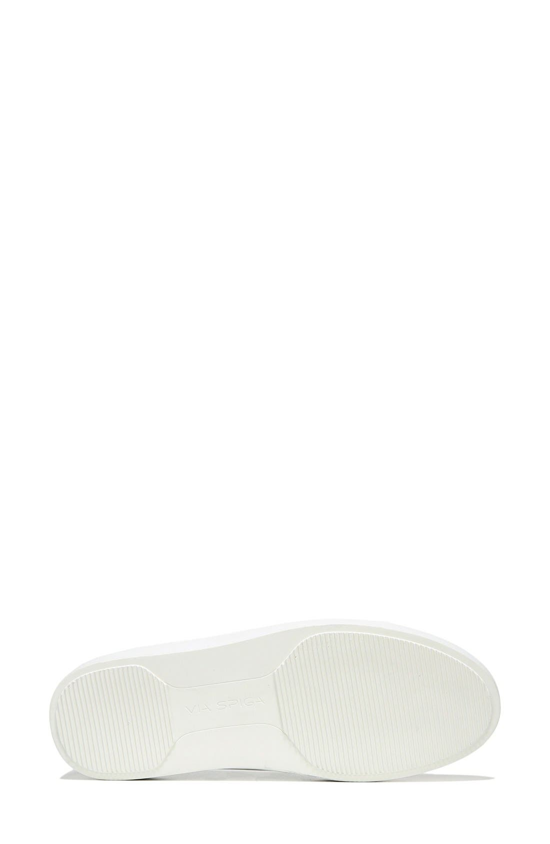 Alternate Image 5  - Via Spiga Gavra Perforated Slip-On Sneaker (Women)