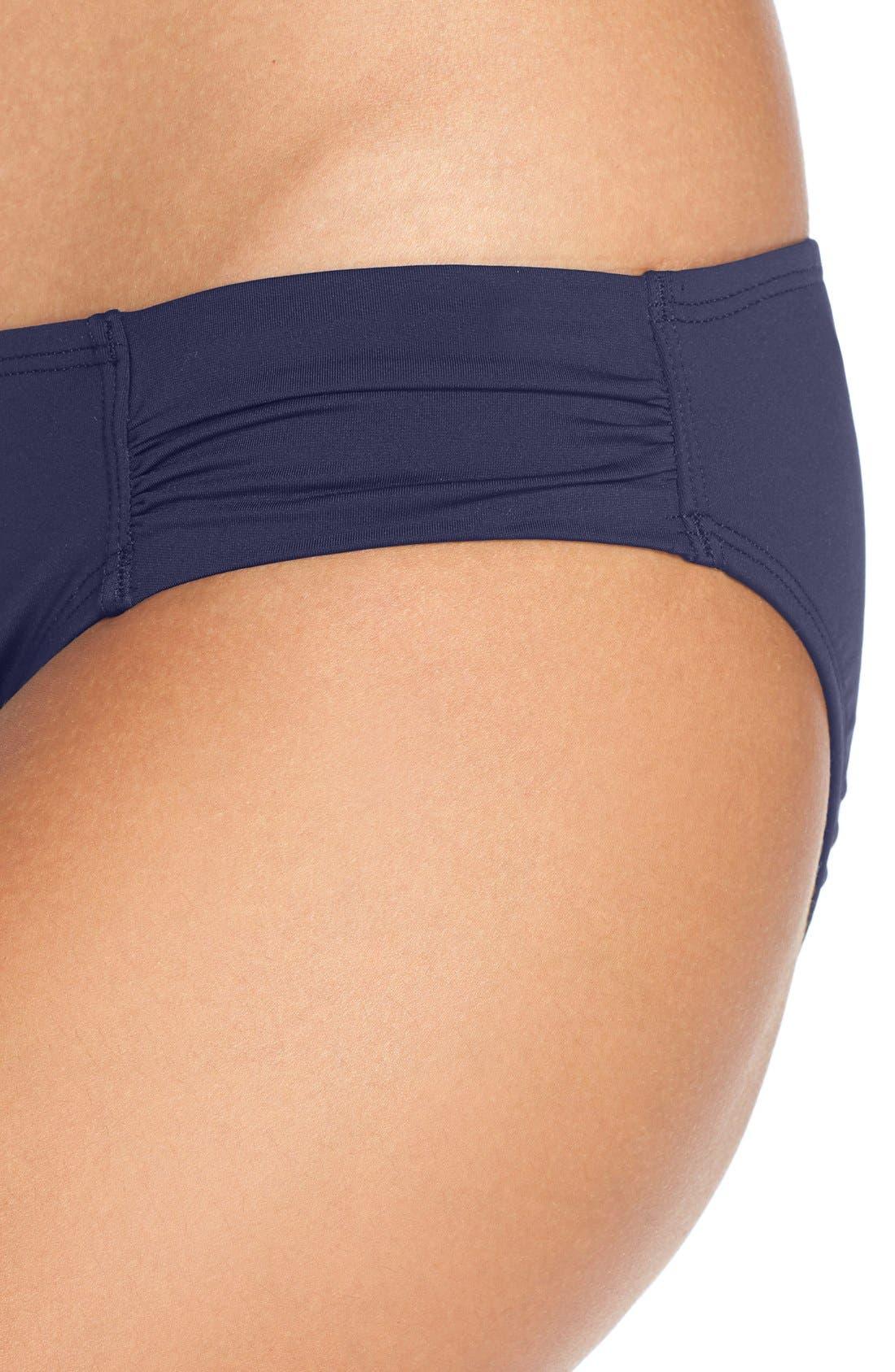 Alternate Image 4  - Tommy Bahama Side Shirred Hipster Bikini Bottoms