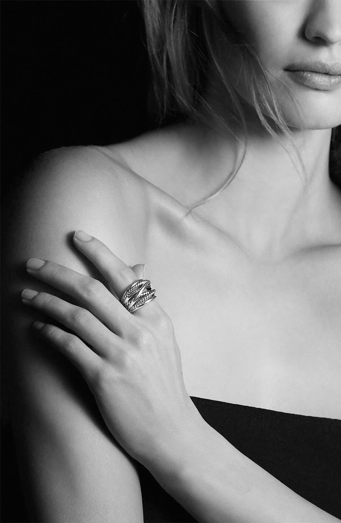 Alternate Image 5  - David Yurman 'Crossover' Wide Ring