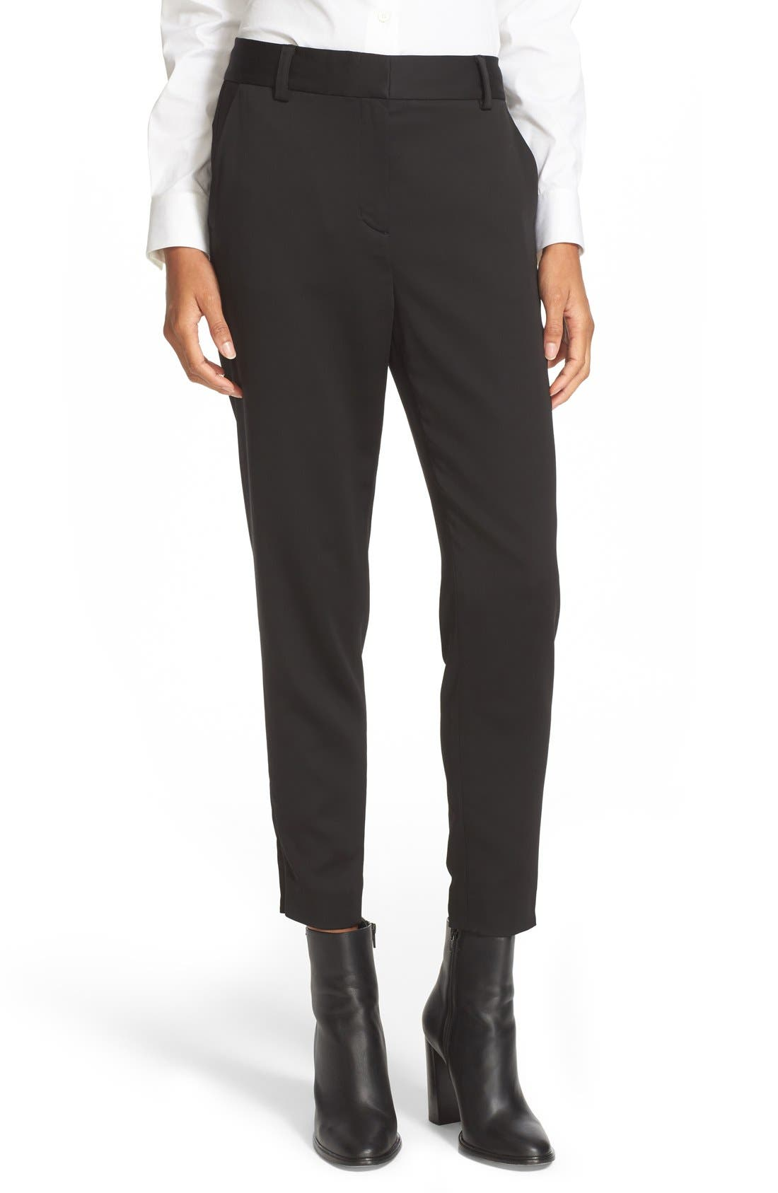 Alternate Image 1 Selected - DKNY Relaxed Crop Pants