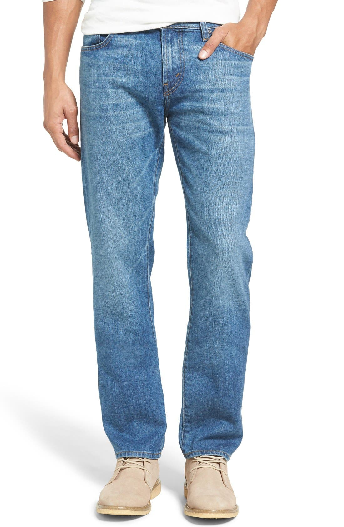 Alternate Image 1 Selected - J Brand Kane Slim Straight Leg Jeans (Kamet)