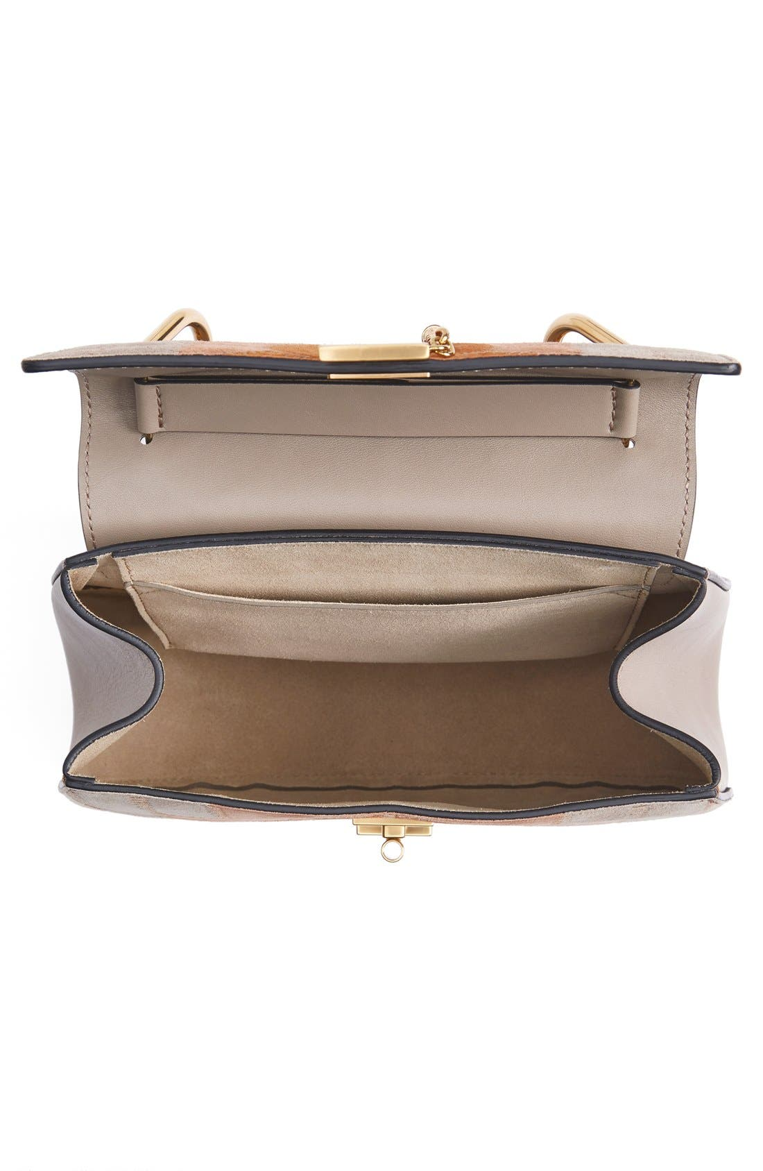 Alternate Image 4  - Chloé 'Small Drew' Patchwork Suede Shoulder Bag