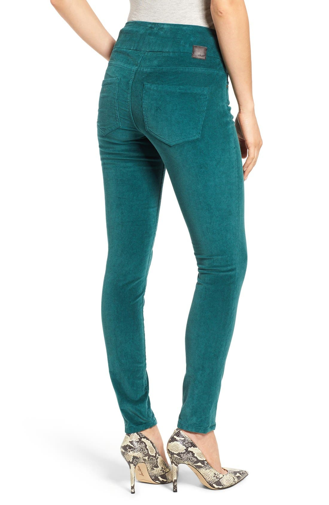Alternate Image 2  - Jag Jeans Nora Pull-On Stretch Skinny Corduroy Pants (Regular & Petite)