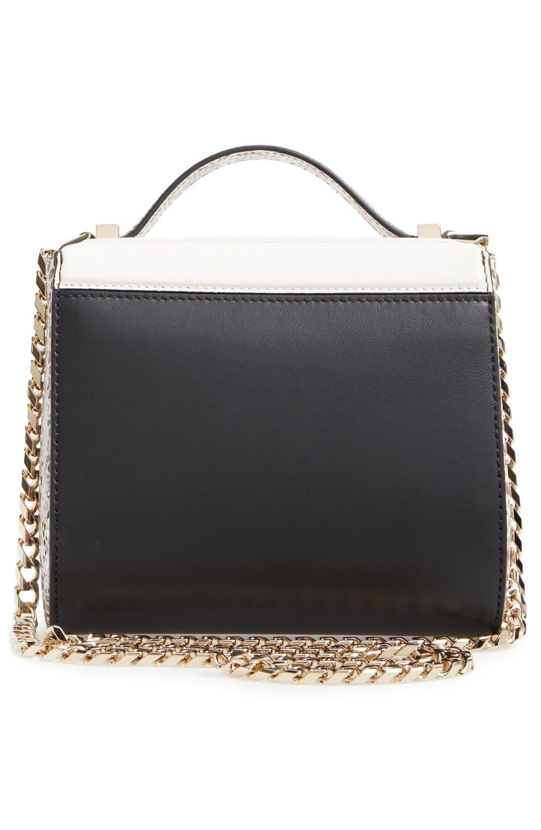 Alternate Image 2  - Givenchy Pandora Box Genuine Snakeskin Crossbody Bag