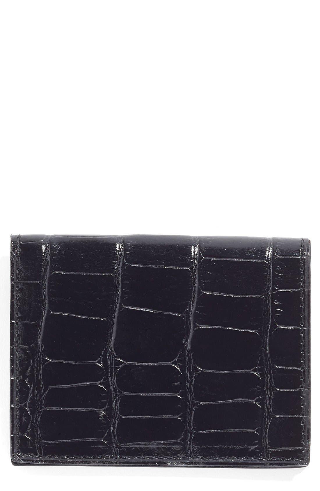 Martin Dingman Leather ID Wallet