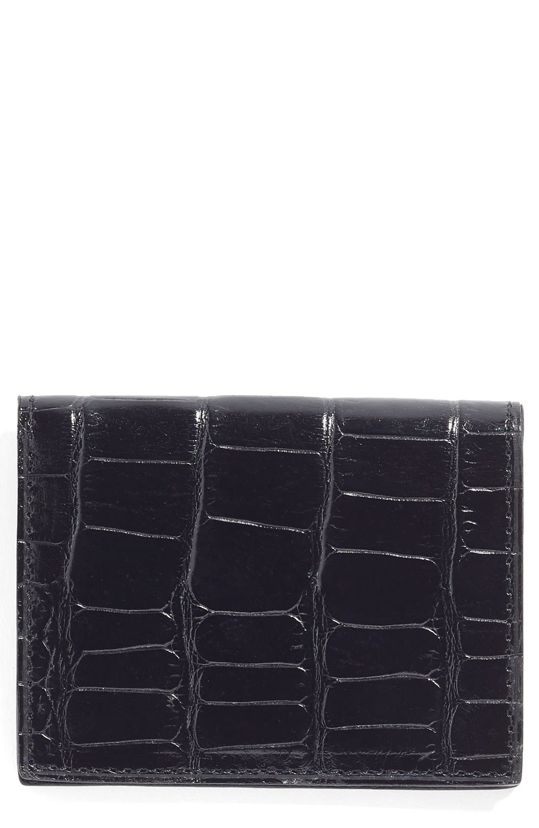 Martin Dingman Leather ID Wallet