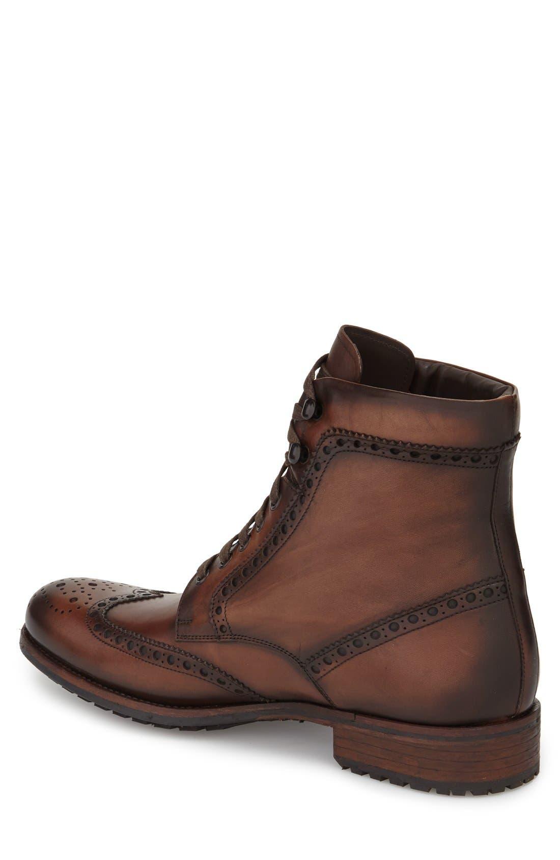 Alternate Image 2  - Magnanni Maddox Wingtip Boot (Men)