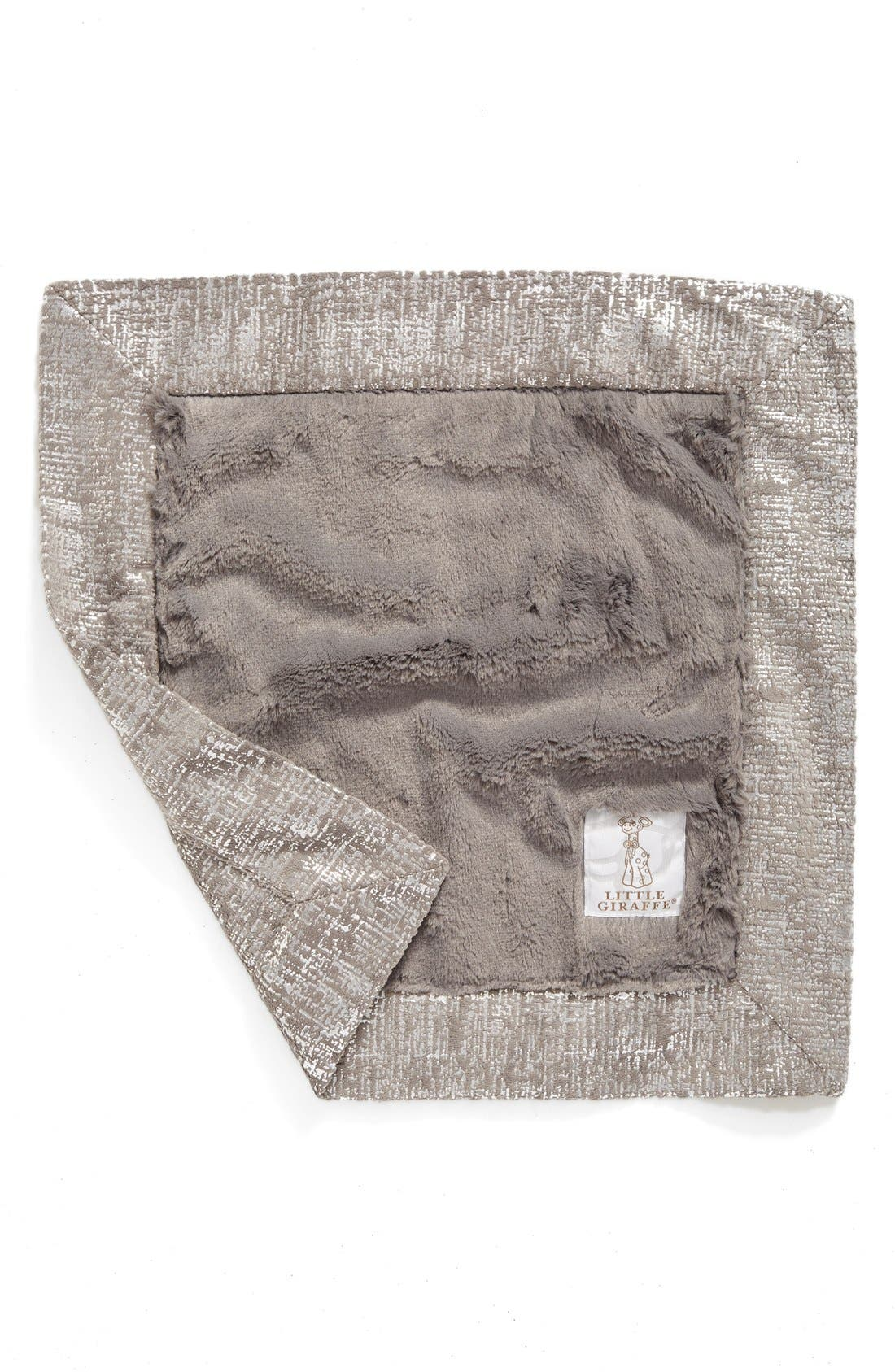 Luxe Lustre<sup>™</sup> Rain Blanky,                             Main thumbnail 1, color,                             Charcoal