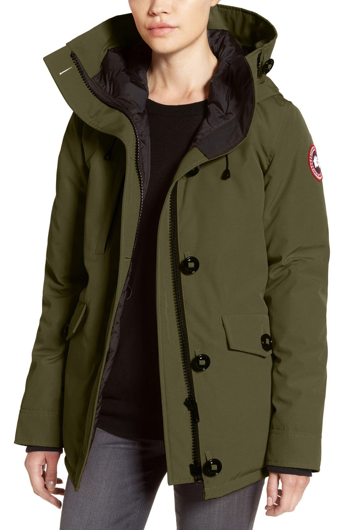 Alternate Image 1 Selected - Canada Goose 'Rideau' Slim Fit Down Parka