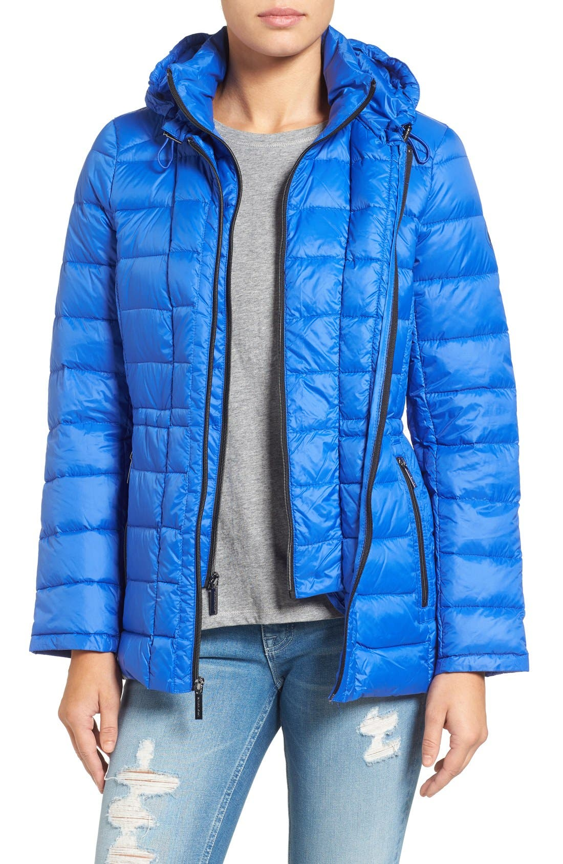 Alternate Image 1 Selected - MICHAEL Michael Kors Quilted Down Jacket