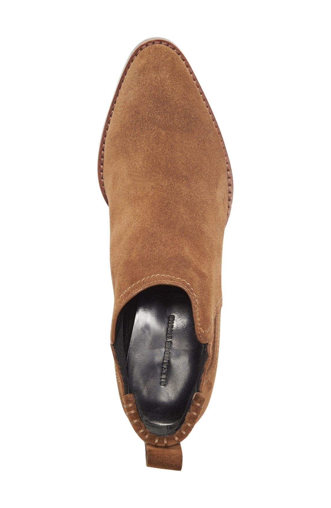 Kori Chelsea Boot,                             Alternate thumbnail 3, color,                             Dark Truffle