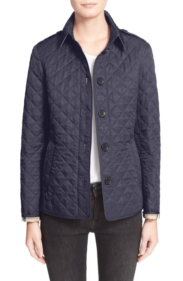 Burberry Ashurst Quilted Jacket | Nordstrom : purple quilted jacket - Adamdwight.com