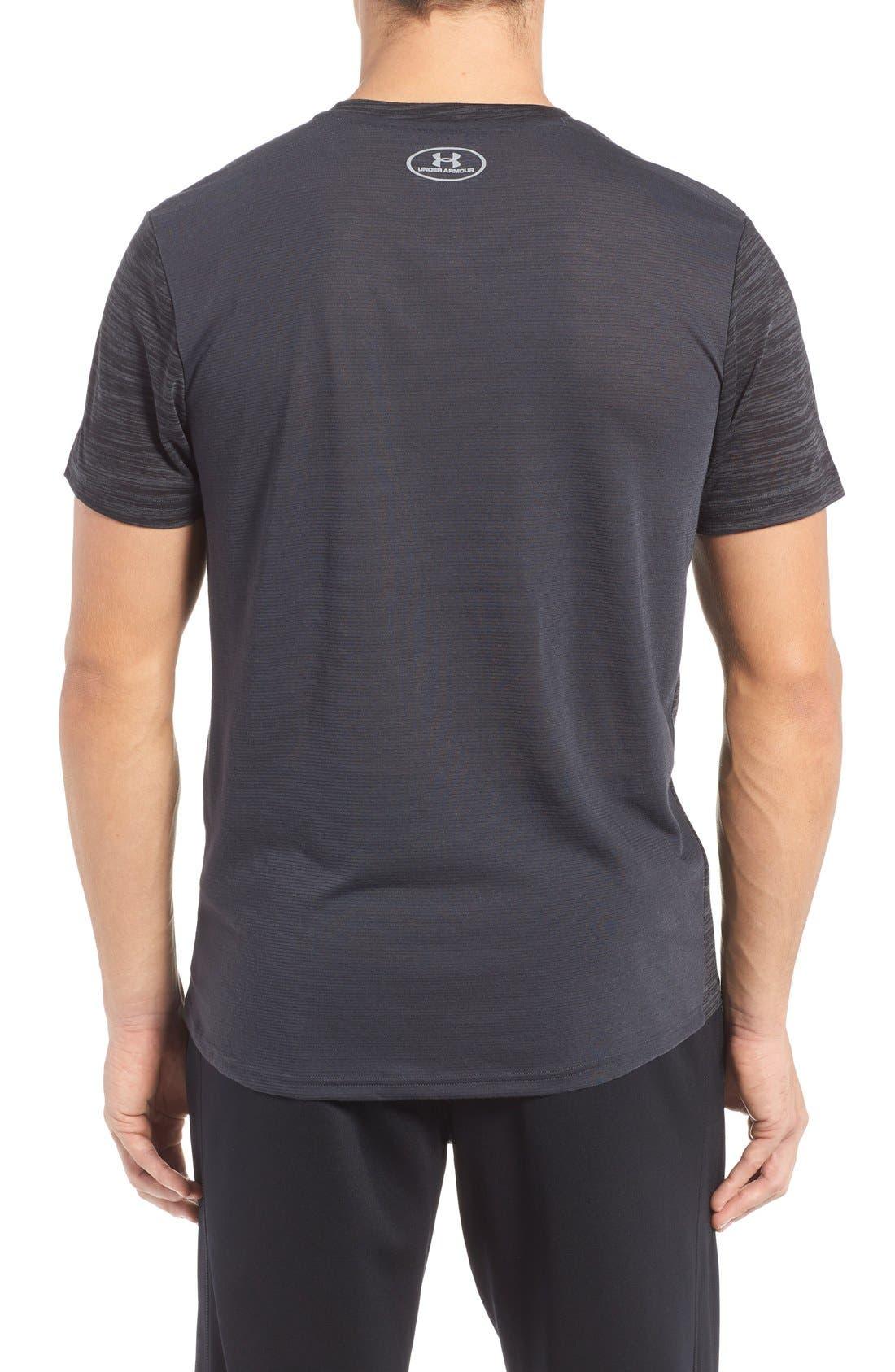 Alternate Image 2  - Under Armour 'Streaker Run' Microthread V-Neck T-Shirt