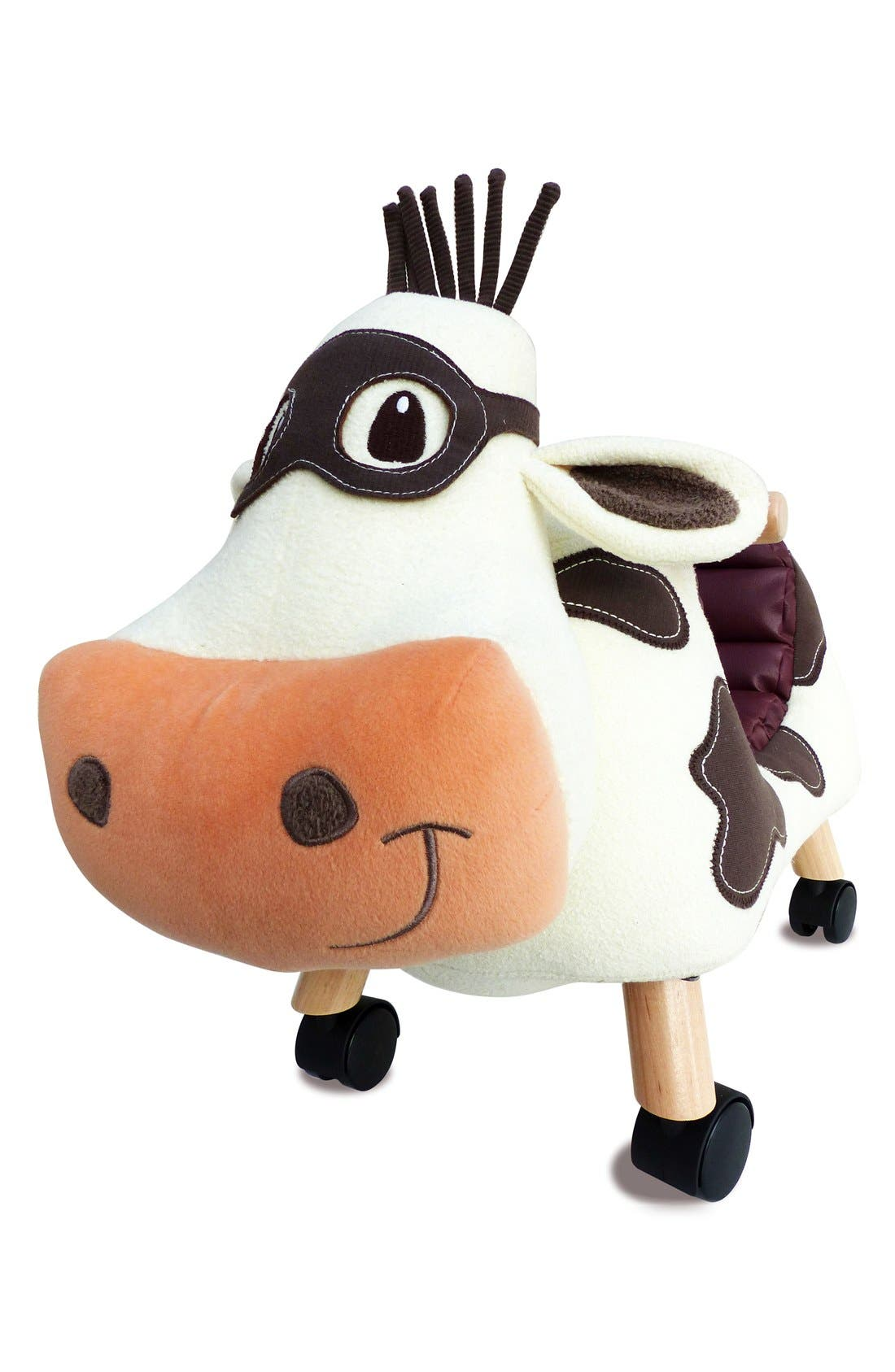Moobert Ride-On Toy,                             Alternate thumbnail 3, color,                             Brown