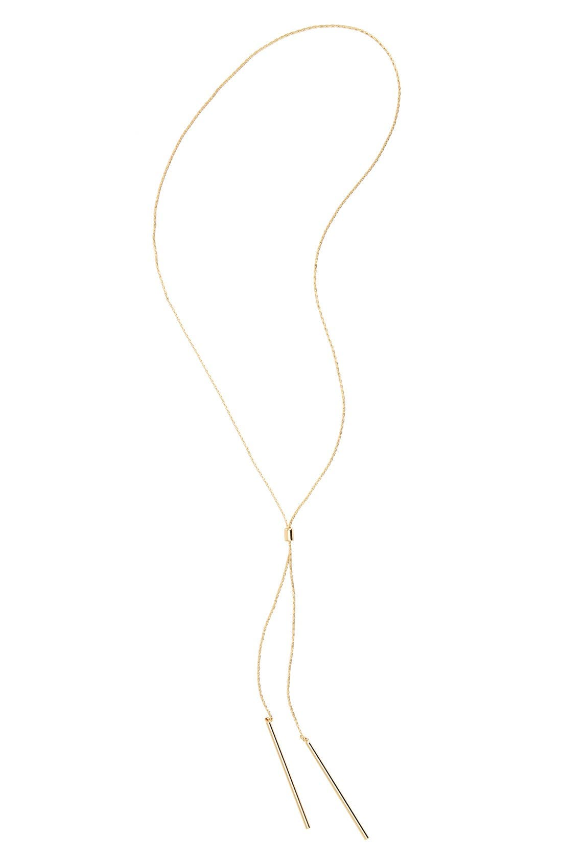 BP. Bar Lariat Necklace