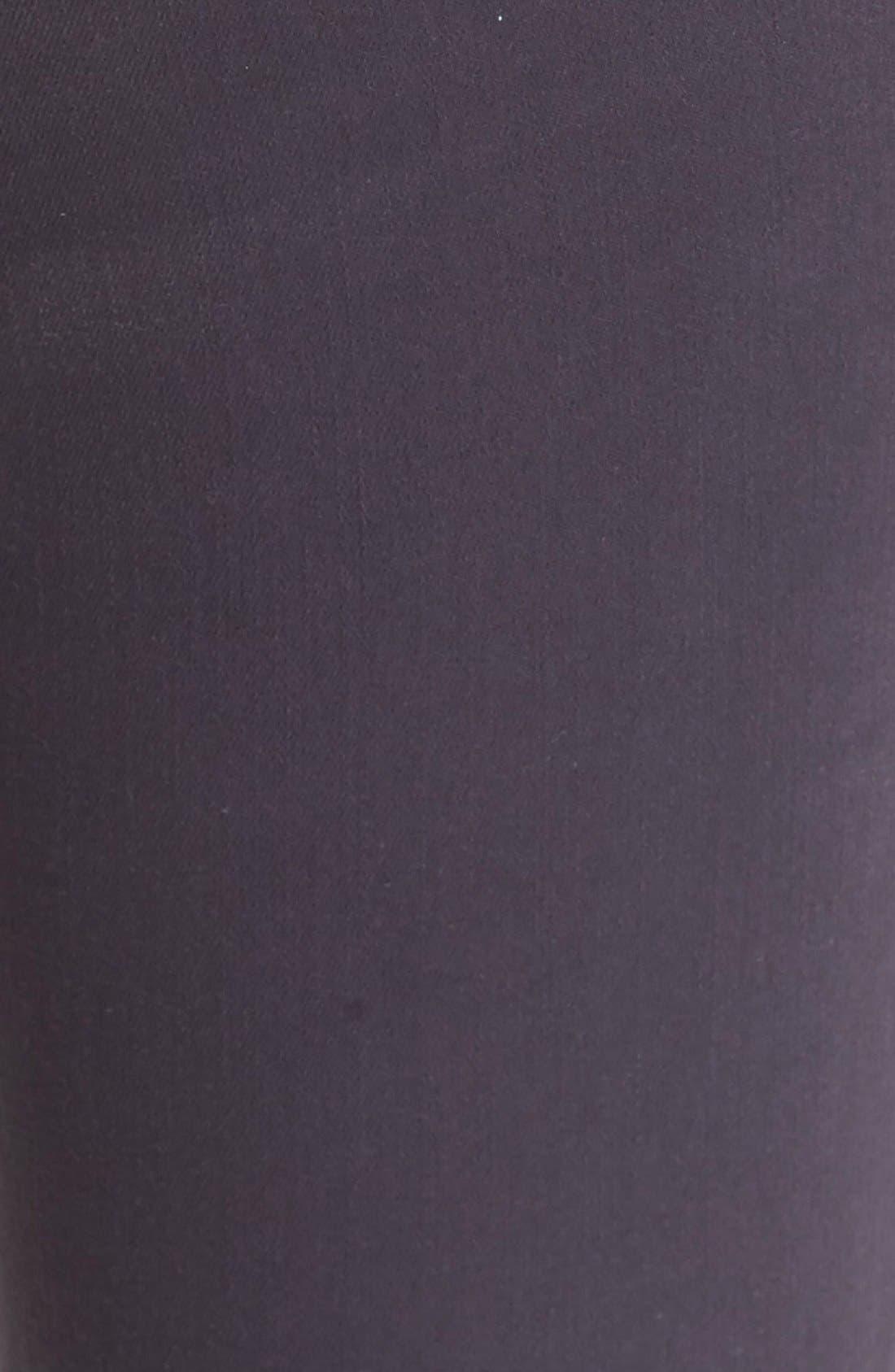 High Waist Skinny Ankle Jeans,                             Alternate thumbnail 6, color,                             Stingray