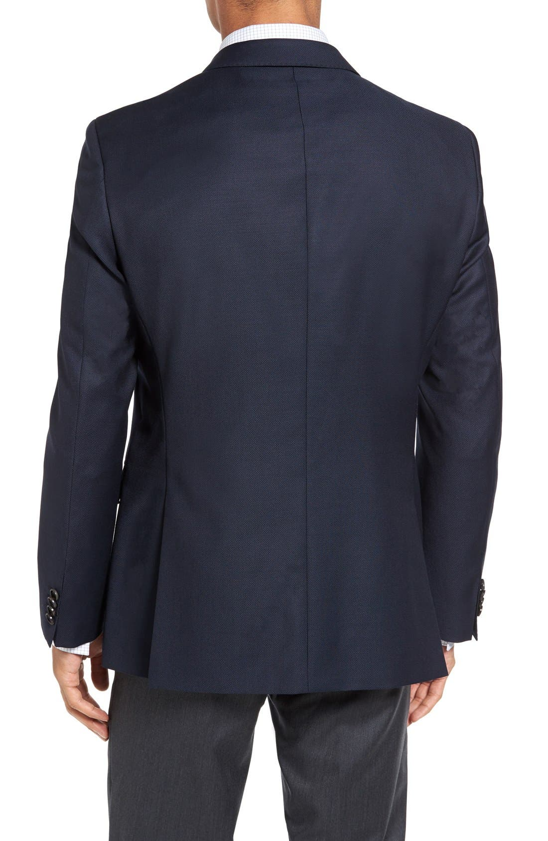 James Classic Fit Wool Blazer,                             Alternate thumbnail 2, color,                             Navy