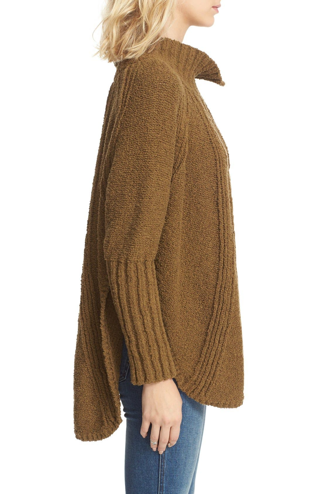Alternate Image 3  - Free People Spin Around Poncho Sweater